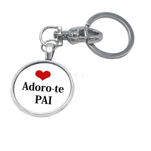 Porta-Chaves Personalizado - Adoro-te Pai