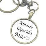 Porta-chaves - Amo-te Mãe
