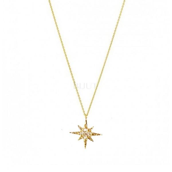 Colar Estrela Cristais