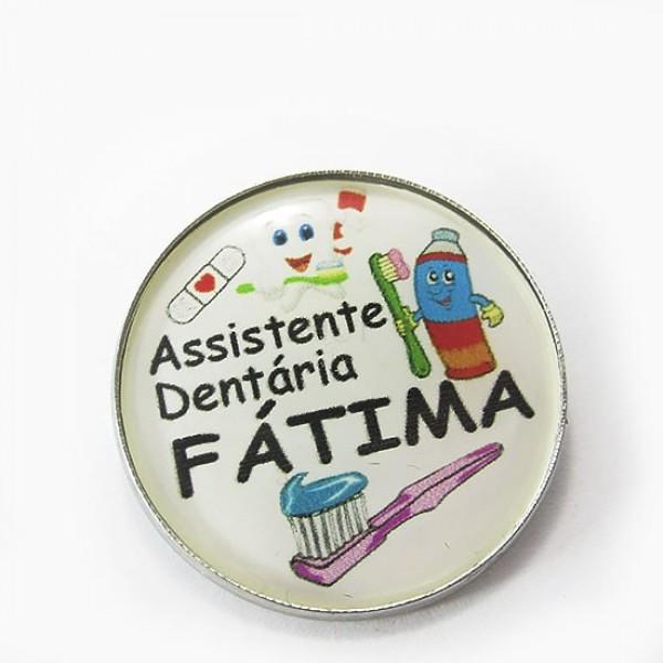 Crachá - Assistente Dentária