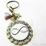 Porta-chaves Vintage - Infinito