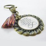Porta-chaves Vintage - Amizade