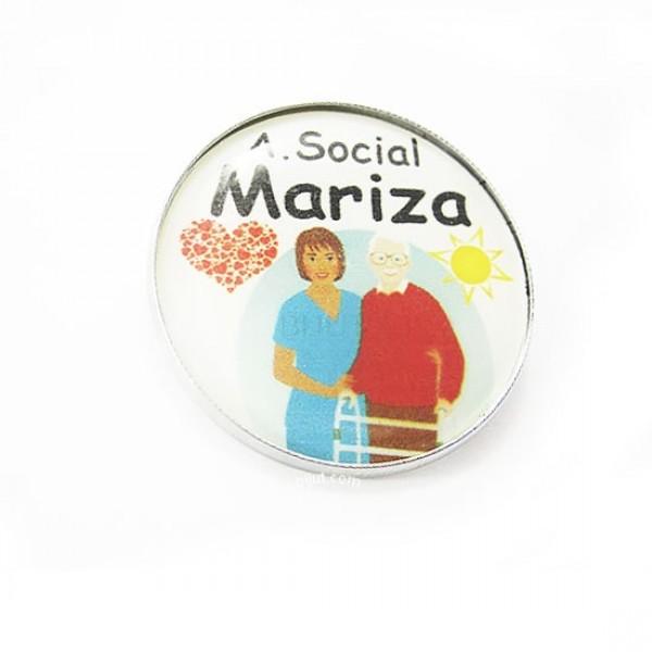 Crachá Assistente Social