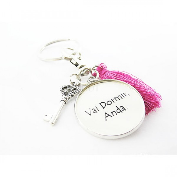 Porta-Chaves Simples - Texto Personalizado